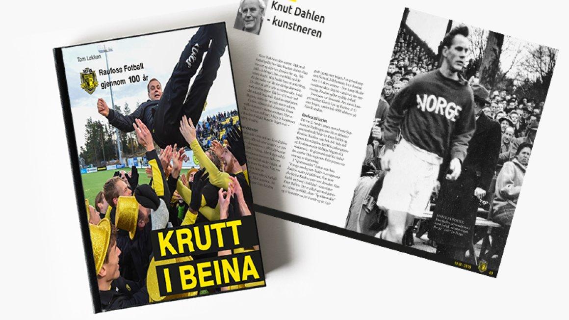 """""""Krutt i beina"""" - klar for salg"""
